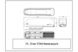Voorwielmotor Ombouwset LED display frame accu_