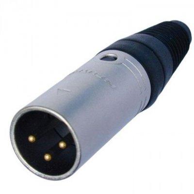 XLR 3 way connector MALE