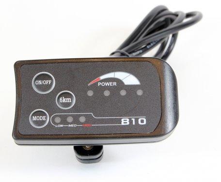 LED 810 display 3 standen met aan - uit knop