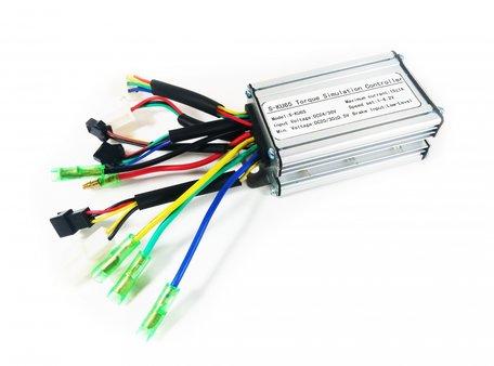 Regelaar 36v 12a led 810 display