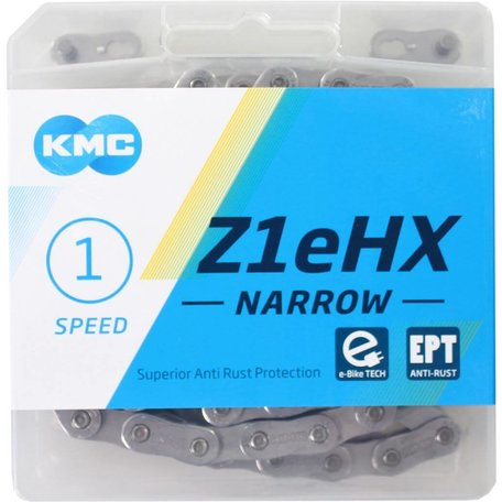 KMC Ketting Z1eHX 3/32 NARROW EPT 112s