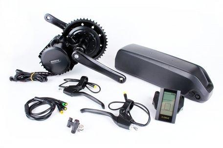 Middenmotor ombouwset Bafang BBSHD 1000watt incl frame accu