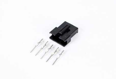 5 Pin Male black Plastic connector