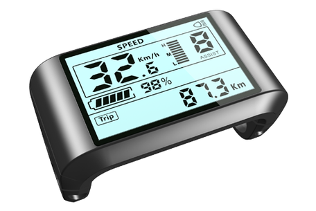 E-Drive LCD display 750S