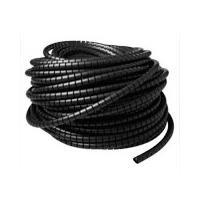 Spiraalband zwart