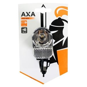Axa Pico 30 E-Switch LED Koplamp Zwart
